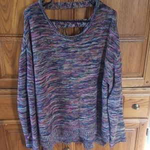 Maurices xxl multicolored sweater
